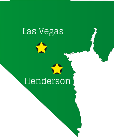 las vegas, and henderson map